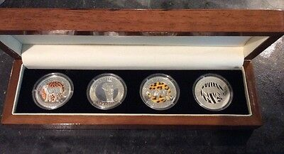 Great Animals of the World 2009 Fiji $1 Coins Nice Set
