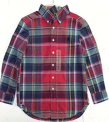 NWT Boys Ralph Lauren Long sleeved shirt age 8 years or 14 to 15 years
