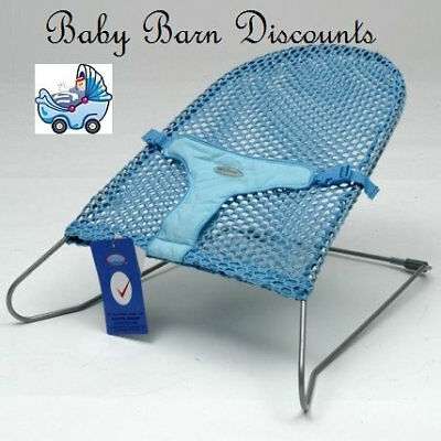 NEW Babyhood - Safety Mesh Bouncer - Turquiose from Baby Barn Discounts