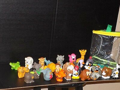 Fisher Price Little People A to Z Alphabet Zoo Complete Set of 26 Letter Animals