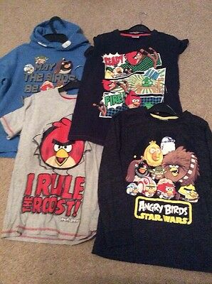 Boys Angry Birds Bundle ~ Hoodie/Tops/Shoes Etc ~ Age approx 9-10 years