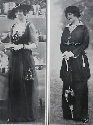 Lady Millicent St. Clair-Erskine Lady Eileen Gwladys Butler 1914 Photo Article