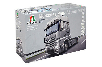 Mercedes Benz Actros Mp4 Gigaspace Kit Italeri 1:24 IT3905