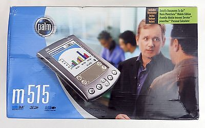 Palm m515 PDA, boxed, complete, fully working