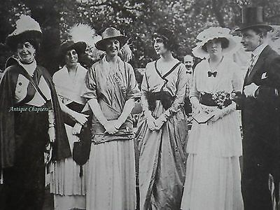Lady Rosemary-Leveson-Gower Staffordshire Cripples Guild 1914 Photo Article A481