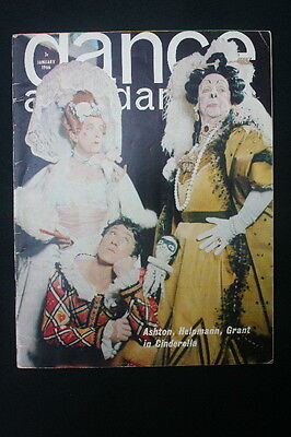 DANCE and DANCERS MAGASINE  January 1966 Ashton Romeo & Juliet Free UK Postage