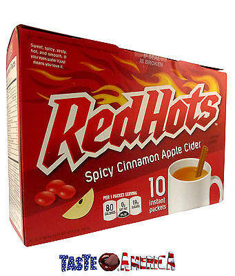 Red Hots Sweet, Spicy, Zesty Cinnamon Apple Cider Instant Drink Mix 207g