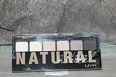 NYX THE NATURAL EYESHADOW PALETTE  6 simple hues   enrich your eyes