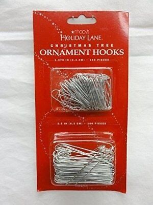 Christmas Tree Ornament Hooks, 100 pieces, 1.375 in , 2.5 in