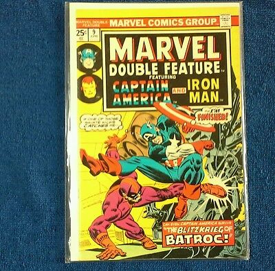 Marvel Double Feature # 9  Captain America and the Iron Man