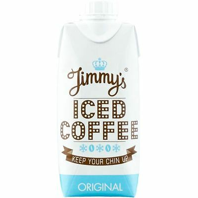 Jimmys Jimmy&Rsquo;S Iced Coffee Original - Pack Of 12 X 330Ml