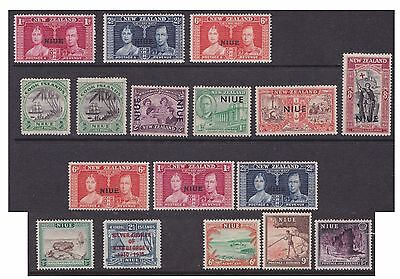 Niue Selection of Mint Stamps (mm)