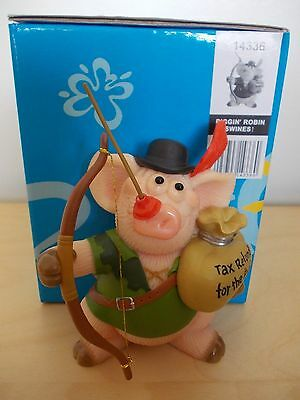 Boxed New Piggin Robin Swines Robin Hood Pig With Bow & Arrow Model Number 14336