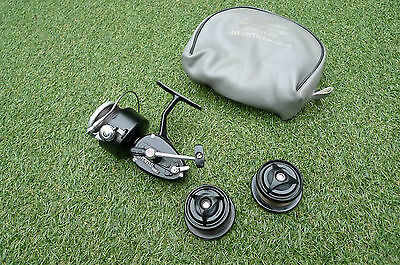 Mitchell Reel Spare Spools Vintage Retro Reel Case Carp Fishing Tackle Gear Set