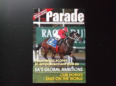 """""""parade"""" South African Racing Magazine March 2005"""