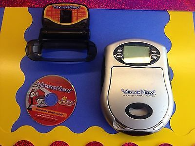 Videonow Personal Video Player with Add On Light Kit & Odd Parents disc 2003