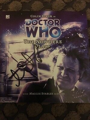 Dr Doctor Who The Nowhere Place Big Finish CD Audio play SIGNED