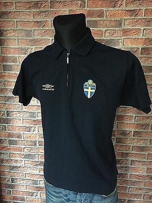 Men Umbro Football Sweden SvFF T-Shirt Jersey Training Size S