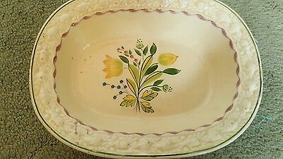 Vintage Adams Royal Ivory Titian Ware Patterned Dish