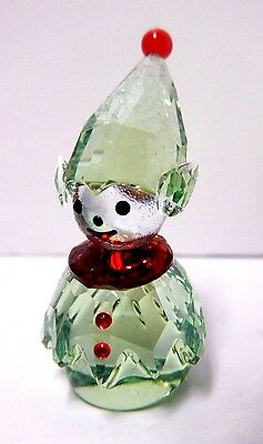 Elf - Santa's Helper - Holiday Christmas Crystal 2014 Swarovski #5059034