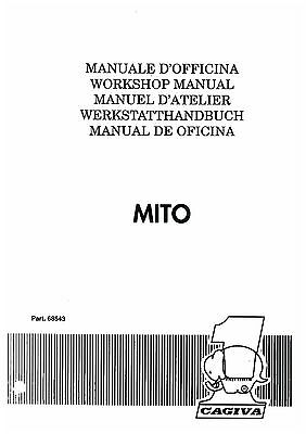 Cagiva Mito Workshop Service Manual
