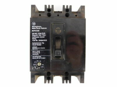 Westinghouse 3-Pole, 7 Amp, 600V Motor Circuit Protector MCP0358R