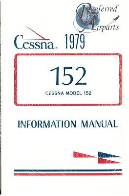 New 1979 Cessna 152 Pilot Information Manual PN D1136-13 Factory Sealed Package!