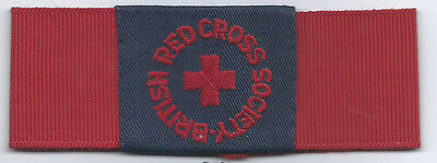 Red Cross Armband Cloth Badge Red