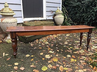 Late Victorian Mahogany Window Seat Duet Stool  Delivery Available