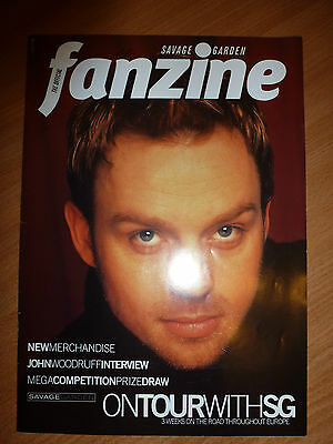 Savage Garden Fan Club Magazine 'Fanzine' Vol 16 (Darren Hayes)