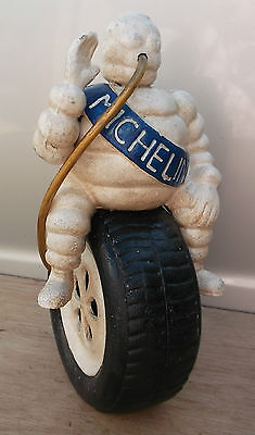 Lovely model of an advertising MICHELIN MAN  sat on a tyre