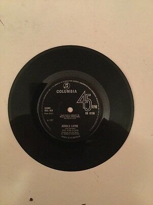"""Pink Floyd Arnold Layne 45rpm 7"""" Columbia 1967 Early Pressing"""