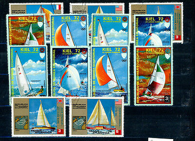 Equatorial Guinea outstanding selection of 13 stamps - great value