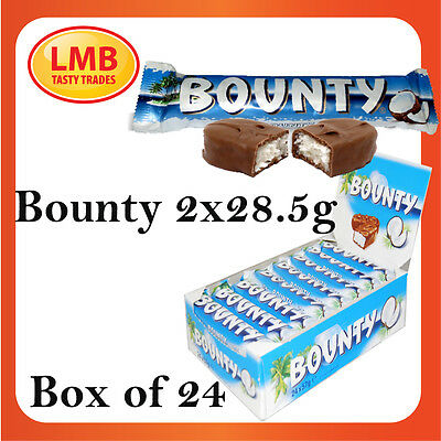 BOUNTY MILK CHOCOLATE (full case of 24 packs) **out of date** CHEAPEST