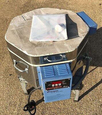 Paragon Fusion 7 Glass Fusing Kiln With Stand And Manual Used A Few Times Nice