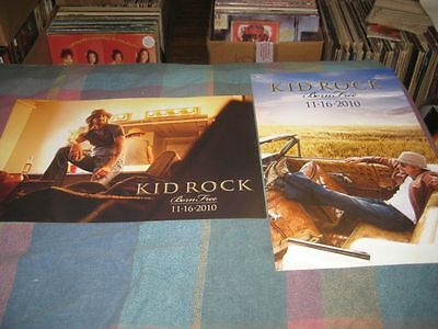 KID ROCK-(born free)-1 POSTER-2 SIDED-11X17-NMINT-RARE