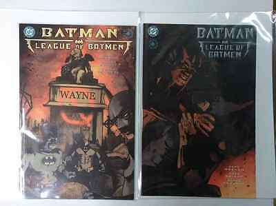 Dc Batman-League Of Batmen- Book One And Two!-Free Shipping