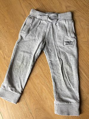Boys Kids Grey Joggers Aged 2-3 Years.