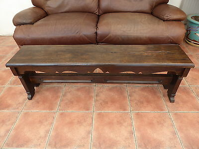 Country Oak Bench 1820 Suit Country Cottage   Free Shipping