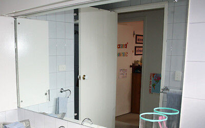 Wall Mounted Large Bathroom Mirror - A MUST HAVE!