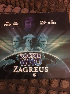 Dr Doctor Who Zagreus 3xCD Big Finish Audiobook