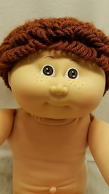 1985 Cabbage Patch Kids IC2 Boy Brown Hair Eyes Freckles #1 HM