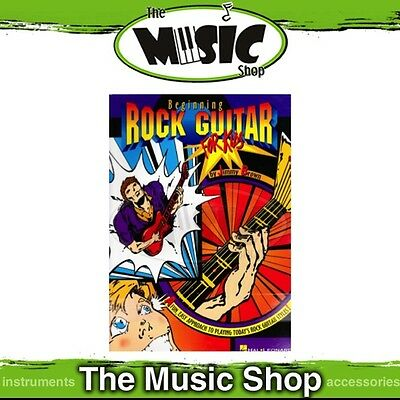 New Beginning Rock Guitar for Kids Music Tuition Book - Electric Guitar Method