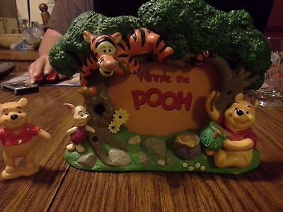 """Winnie the Pooh and Friends Photo Frame Fits 3"""" x 5"""" Photo"""