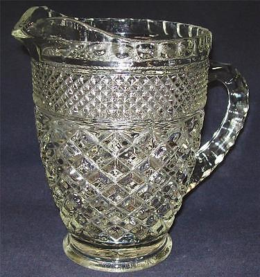 Anchor Hocking Wexford Crystal Clear Pint Pitcher 2 Cup Pitcher