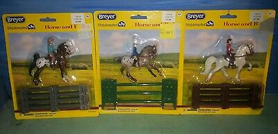 Lot of 3 Breyer Horse Stablemates