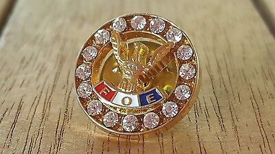 Fraternal Order of Eagles F.O.E. Pin