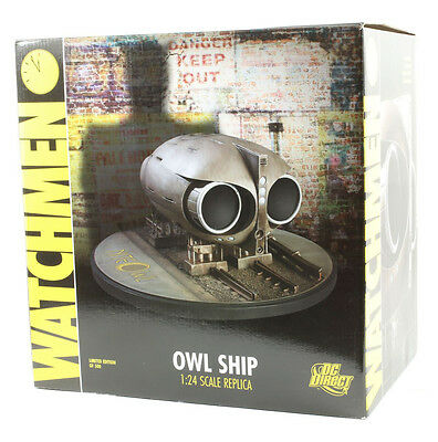 dc watchmen owl ship 1:24 scale replica limited edition of 500