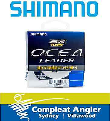Shimano Ocea EX 50m 4lb Fluorocarbon Fishing Leader BRAND NEW At Compleat Angler