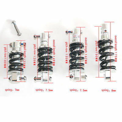 NEW Bicycle Mountain Bike Rear Suspension Spring Shock Absorber For MTB 1000Lbs